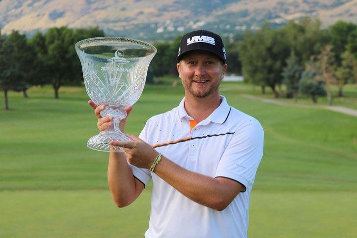 Brice Garnett, 2017 Utah Championship winner