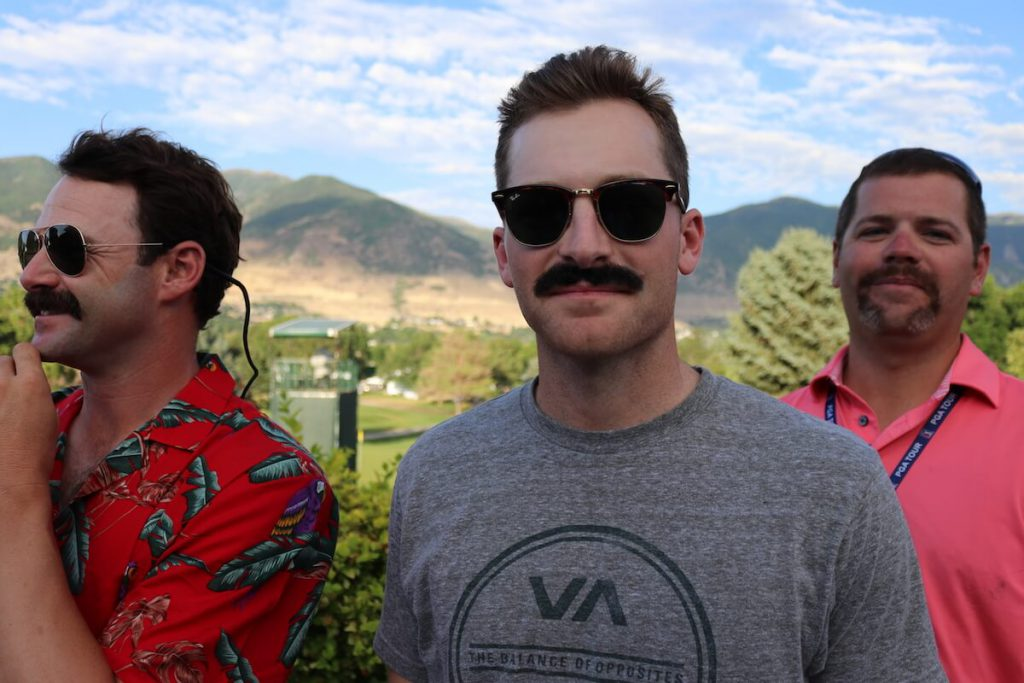 Brian Campbell, Mustache Madness