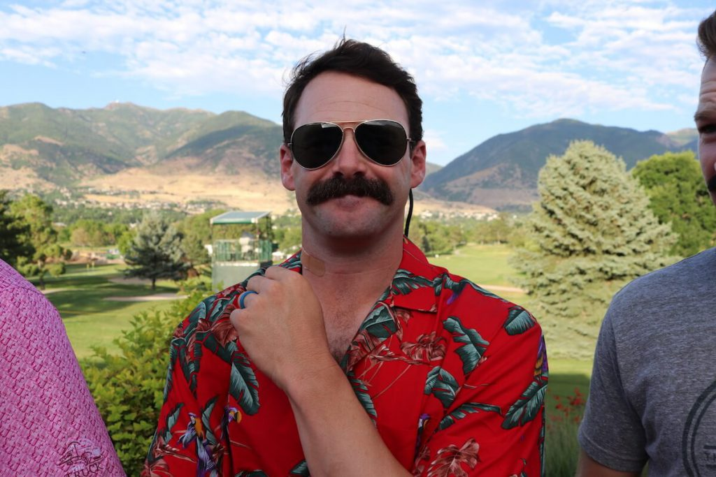 Matt Ryan, Mustache Madness
