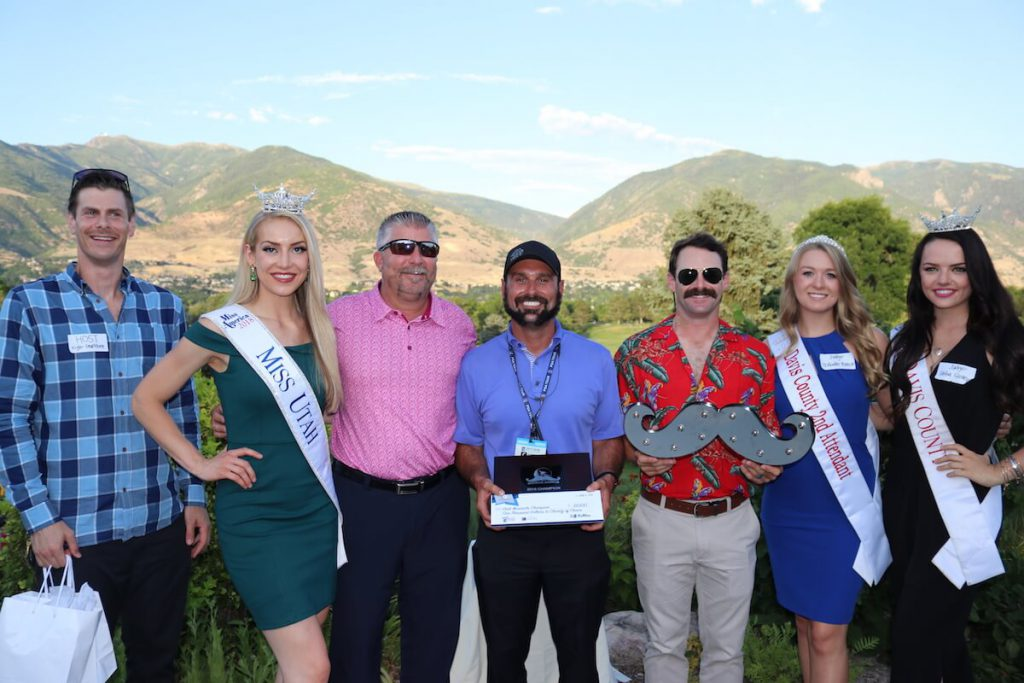 Miss Utah and  Davis County Royalty, Mustache Madness
