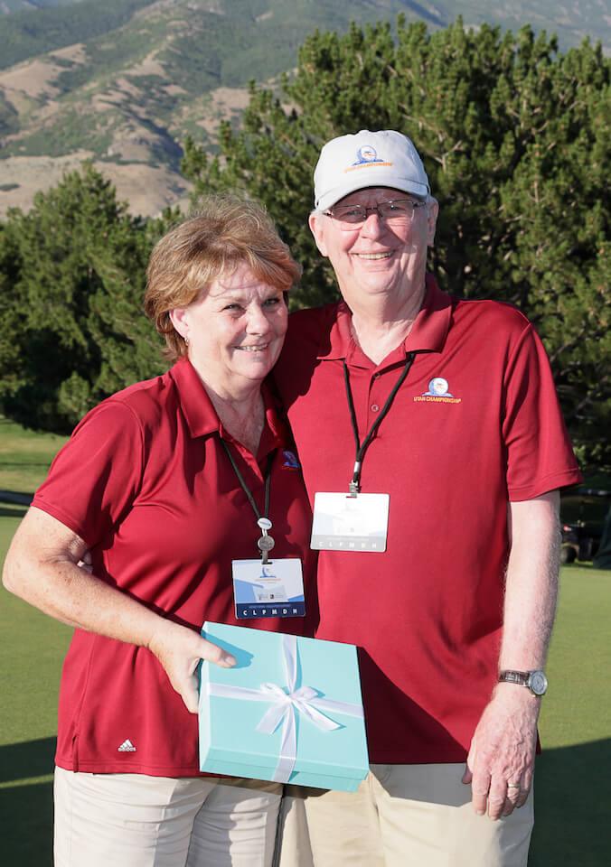 Wendy and Steve Winn, Volunteers of the Year