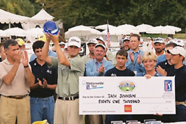 Zach Johnson, 2003 Utah Championship winner