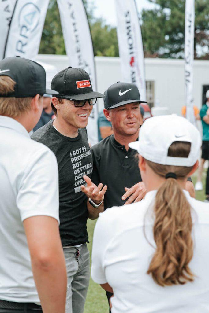 Preston, Boyd, and Summerhays with Ryan Smith, Tony Finau Foundation Golf Classic