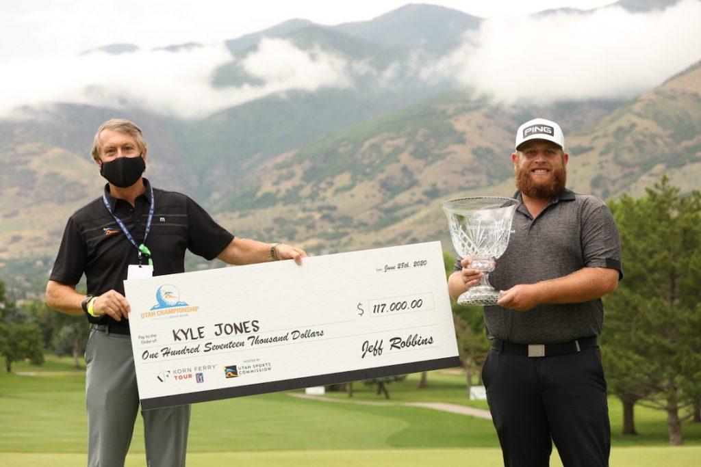 2020 - Utah Championship - Winners Check